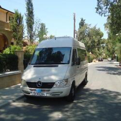 Polyviou Coaches Tourist Tours Mercedes Sprinter For Disabled