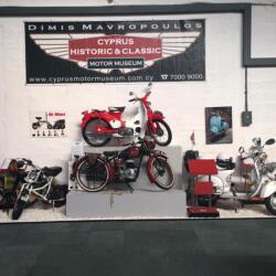 Cyprus Historic And Classic Motor Museum Motorbikes