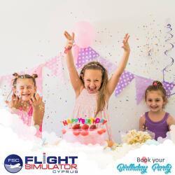 Flight Simulator Cyprus Birthday Parties