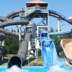 Fasouri Watermania Attractions Combination Shower Slide