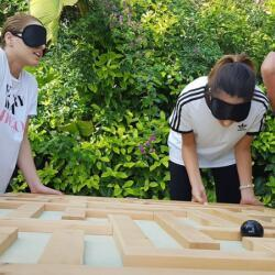 Corporate Team Building Activities Blind Communication By Cpc Events Ltd